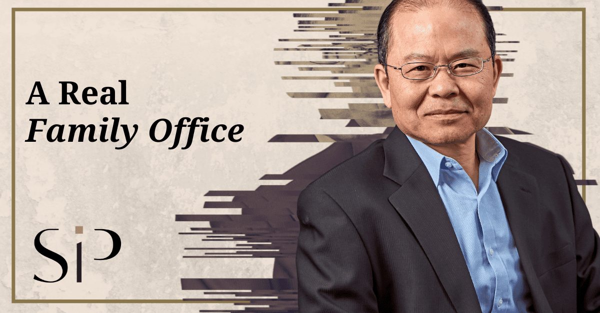 A Real Family Office - header image featuring Paul Pui