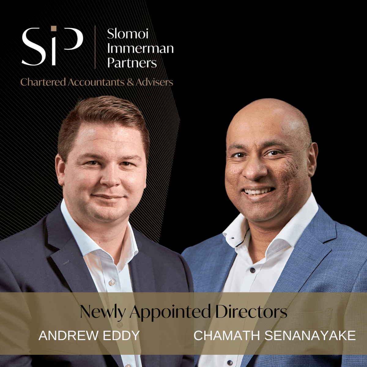 Welcome new Directors Andrew and Chamath